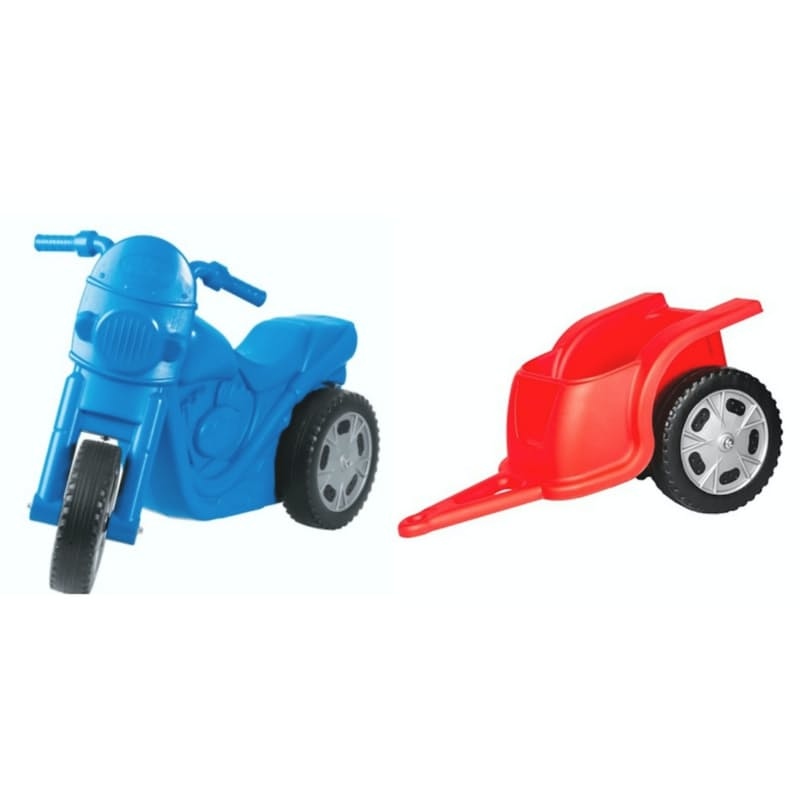 Kids Zoom Push Bike & Trailer