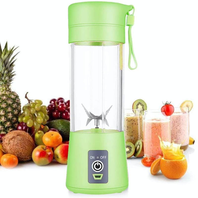 Portable & USB Rechargeable 175W Blender with Strainer