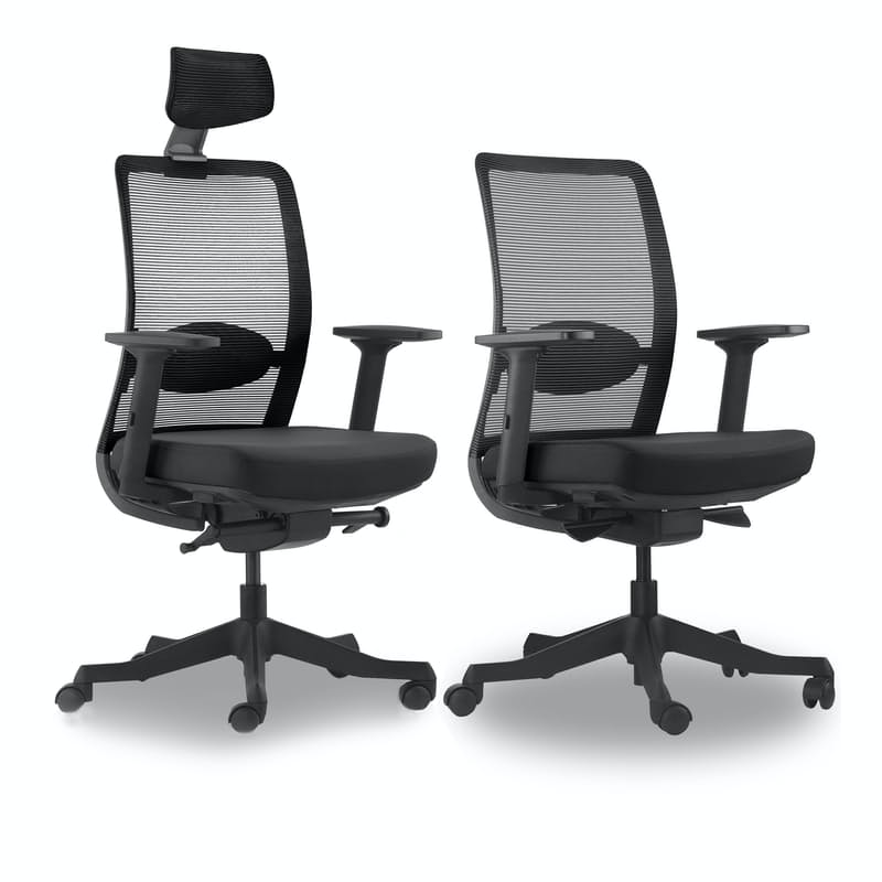 Mid Back or High Back Ergonomic Office Chair