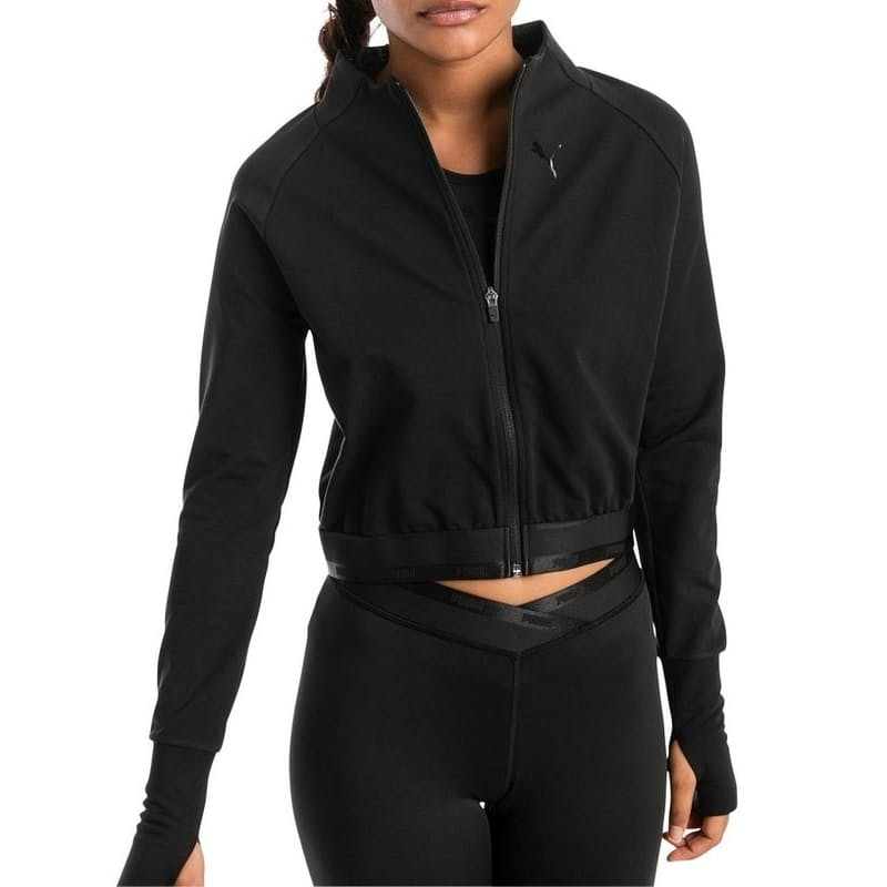 Ladies Soft Semi-Cropped Sports Jacket