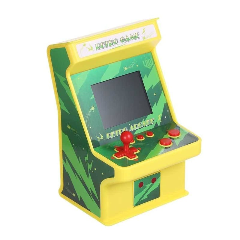 Battery Powered Mini Retro Classic Game Arcade with Gamepad Controller