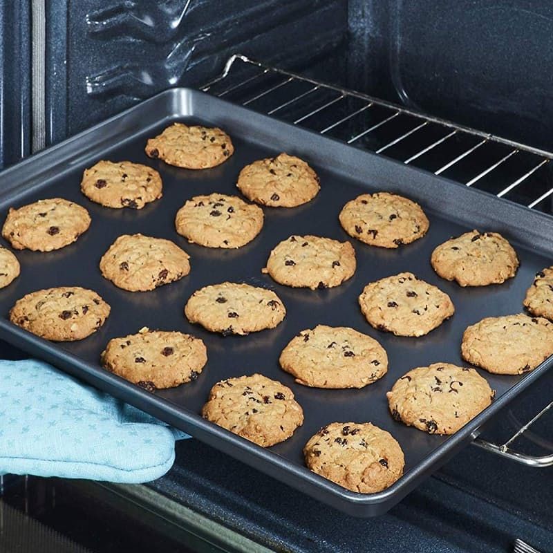Pack of 2 Large Non-Stick Baking Trays