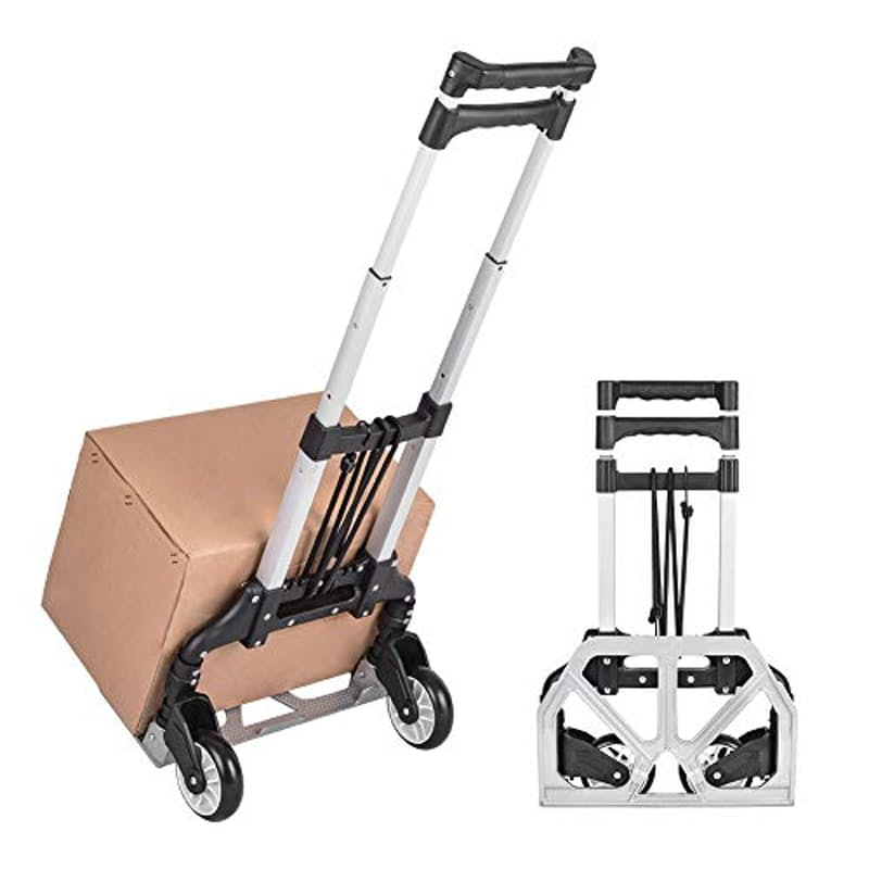 Multifunctional Collapsible Aluminium Trolley