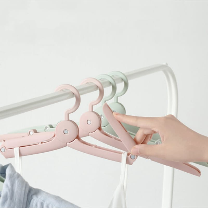 Pack of 5 Anti-slip Folding Clothes Hangers