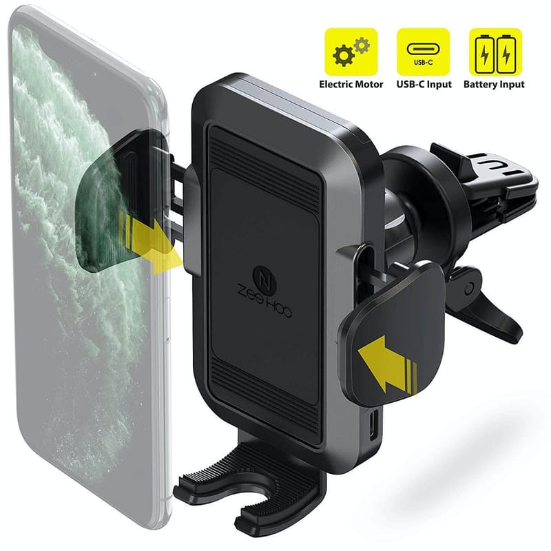 Automatic Battery Powered Car Phone Mount