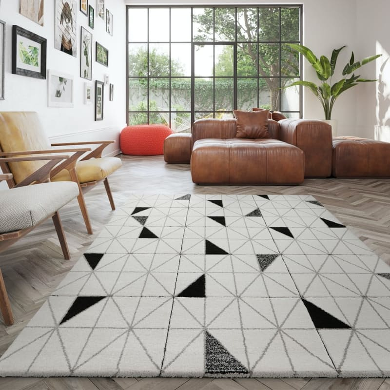 100% Polypropylene Shuffle Rugs (3 Sizes Available)
