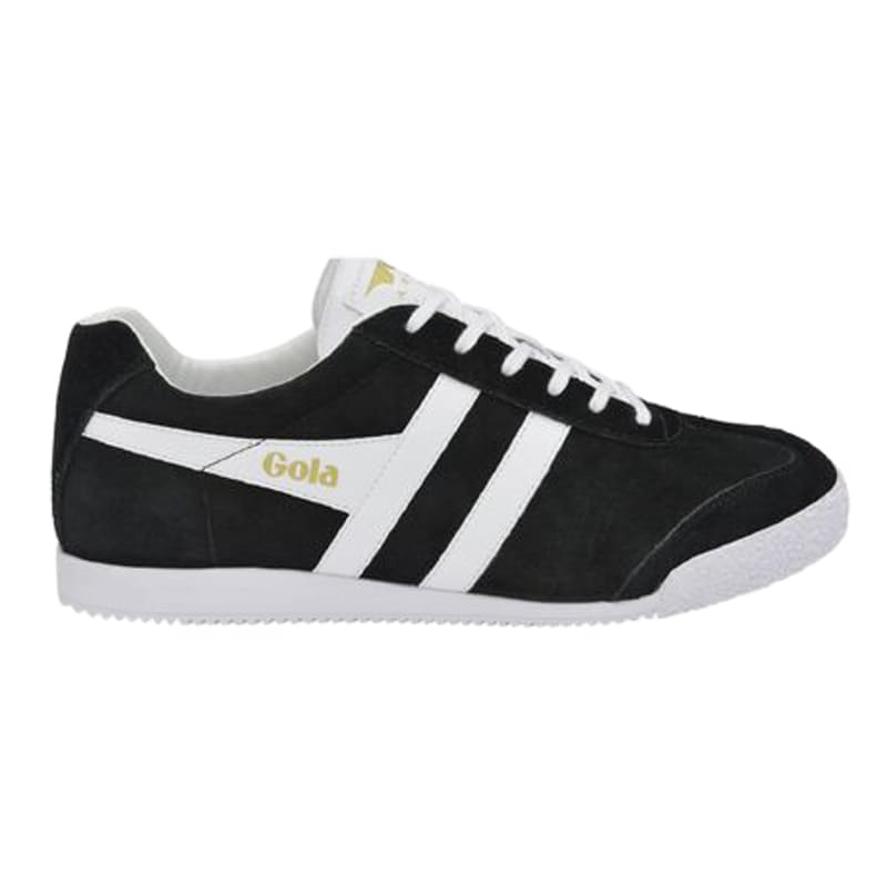 Men's Harrier Suede Black & White Sneakers