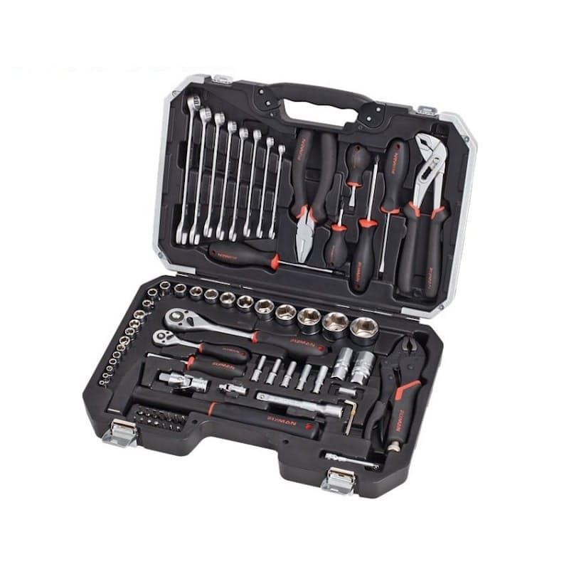 72 Piece Socket Tool Set (Model: B5072M)