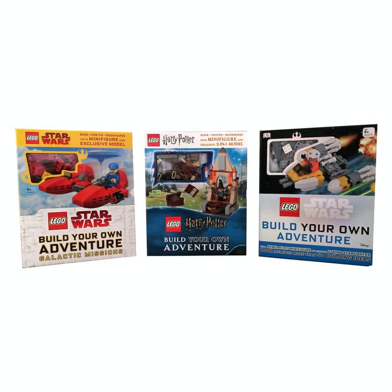 Set of 2 Build Your Own Adventure Box Sets