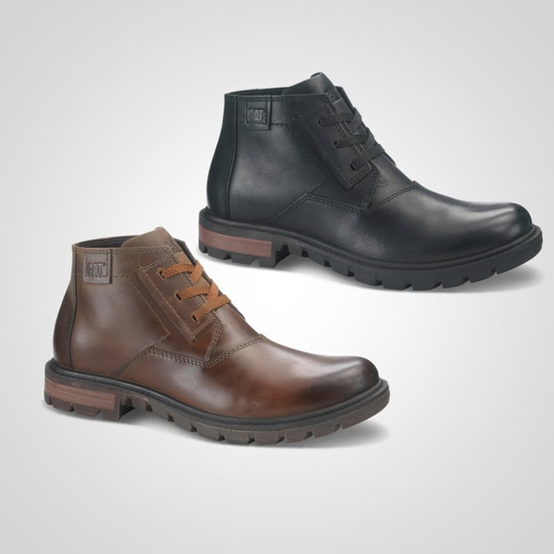 Men's Stats Leather Boots