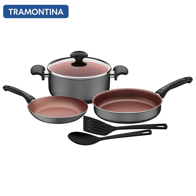 6-Piece Aluminium Internal Non-Stick Cooking Set