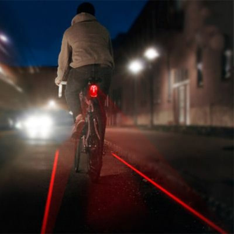 Rear Bike Laser Light- Red
