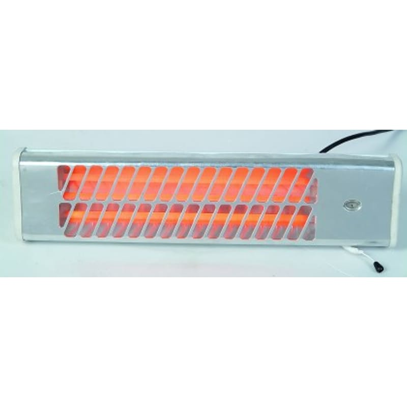 2 or 3 Bar Wall Mount Halogen Heaters