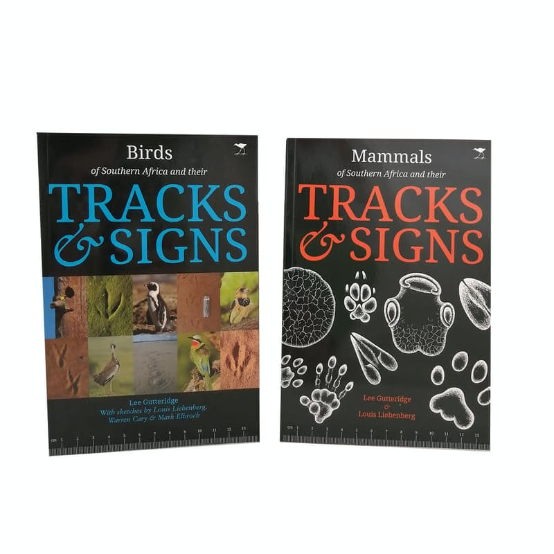 Birds and Mammals of Southern Africa and their Tracks and Signs (2 Books)