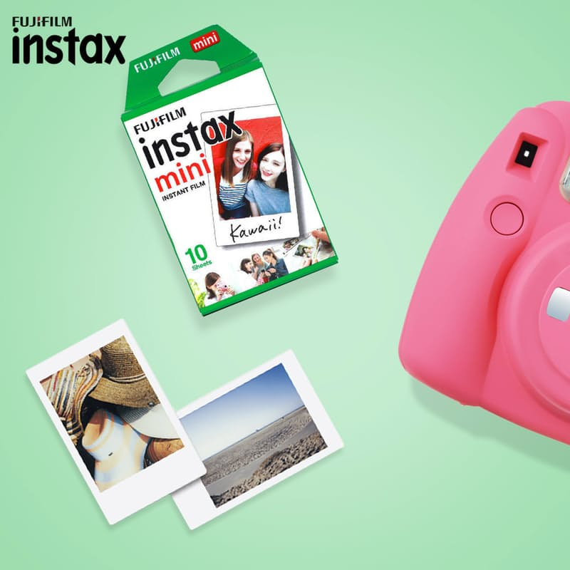 Pack of 5, Ten Pack Instax Mini Film (50 Sheets)