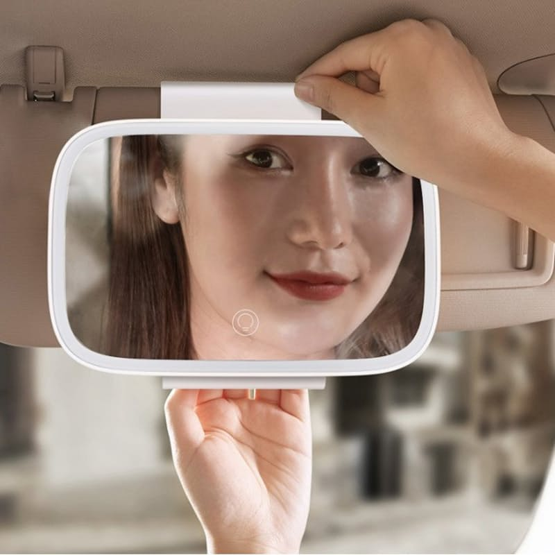 Delicate Queen Series LED Light Car Touch-up Mirror