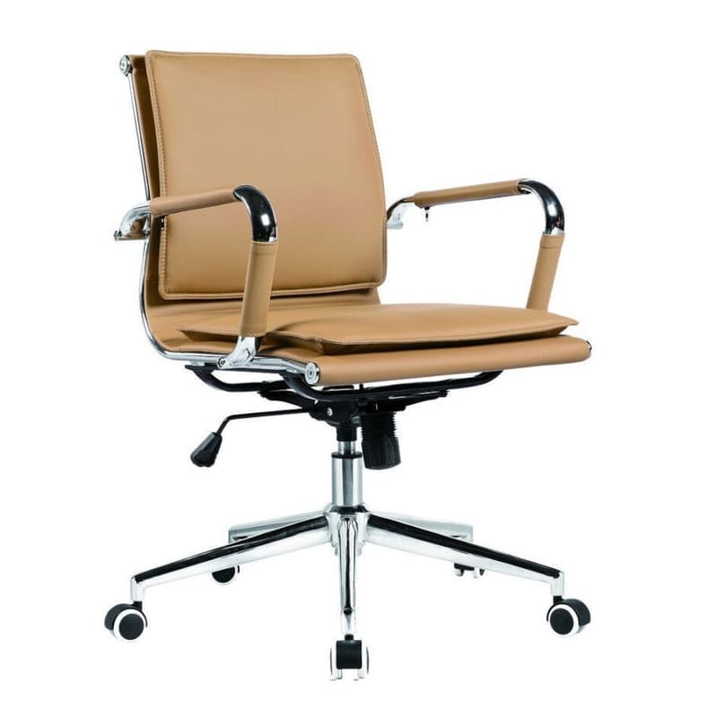 Eames Style Low Back Office Chair with Gas Height Adjustment
