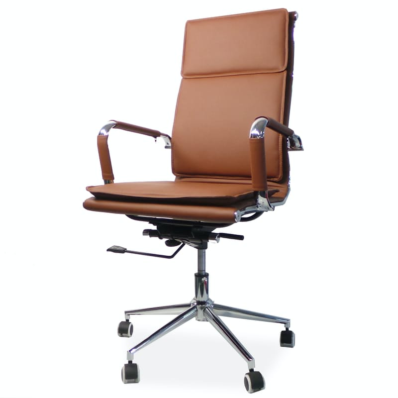 Eames Style High Back Office Chair with Gas Height Adjustment
