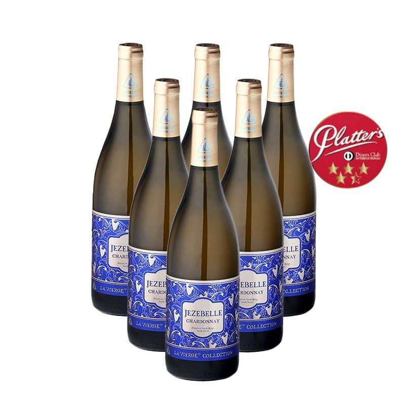 Jezebelle 2018 Chardonnay (R113.16 Per Bottle, 6 Bottles)