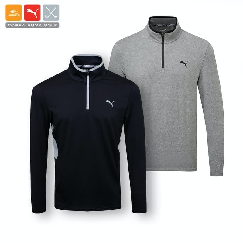 Men's Rotation 1/4 Zip Pullover with Chest Cat