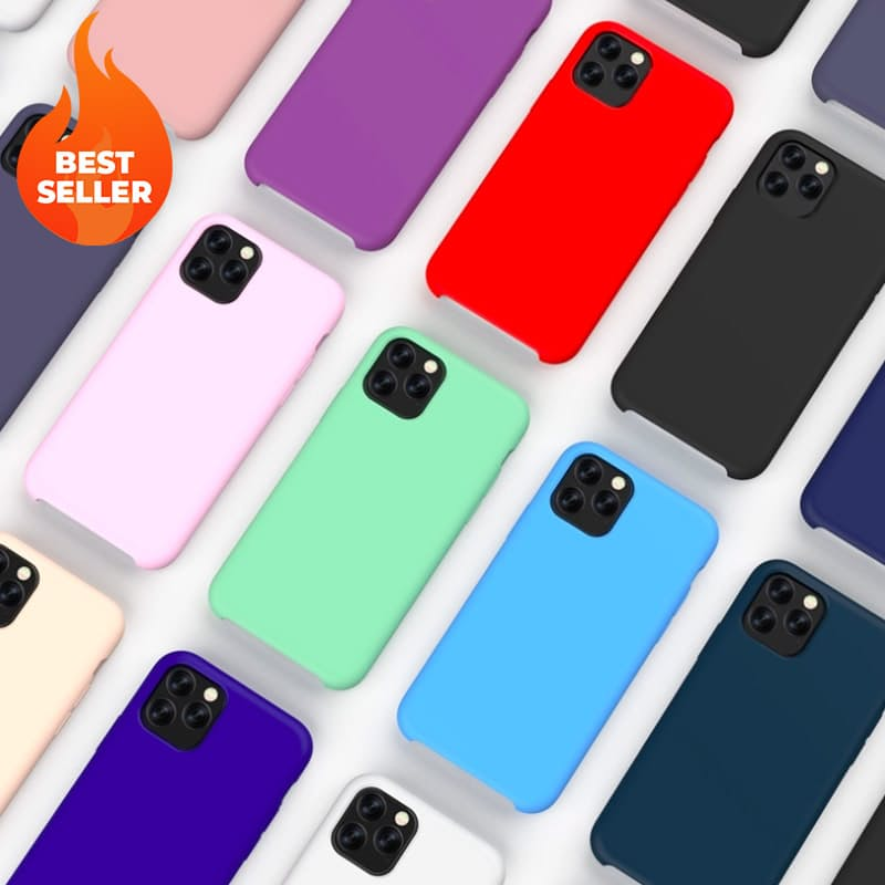 Soft-touch Shock-proof Silicone Phone Cover