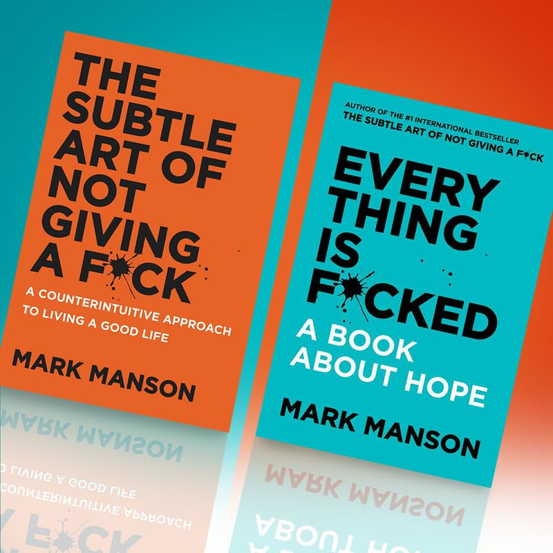 The Subtle Art of Not Giving a F*ck & Everything is F*cked Book Bundle
