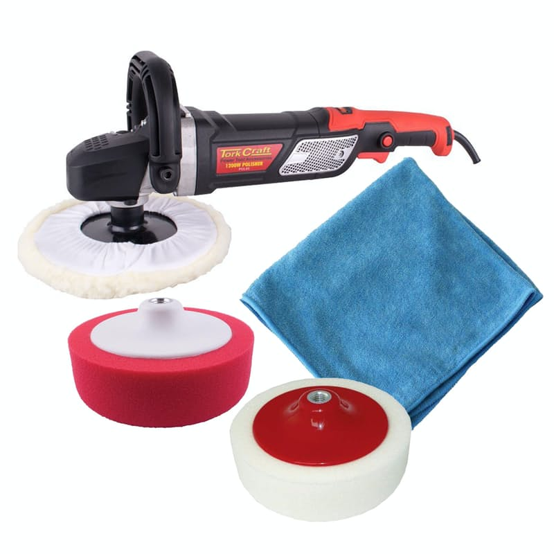 1500W Polisher with Sponges and Microfibre Cloth