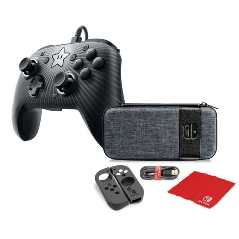 Nintendo Switch Holiday Bundle (Controller & Starter Kit included)