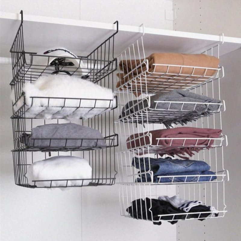 Pack of 3 Multi-functional Hanging Attachable Storage Baskets