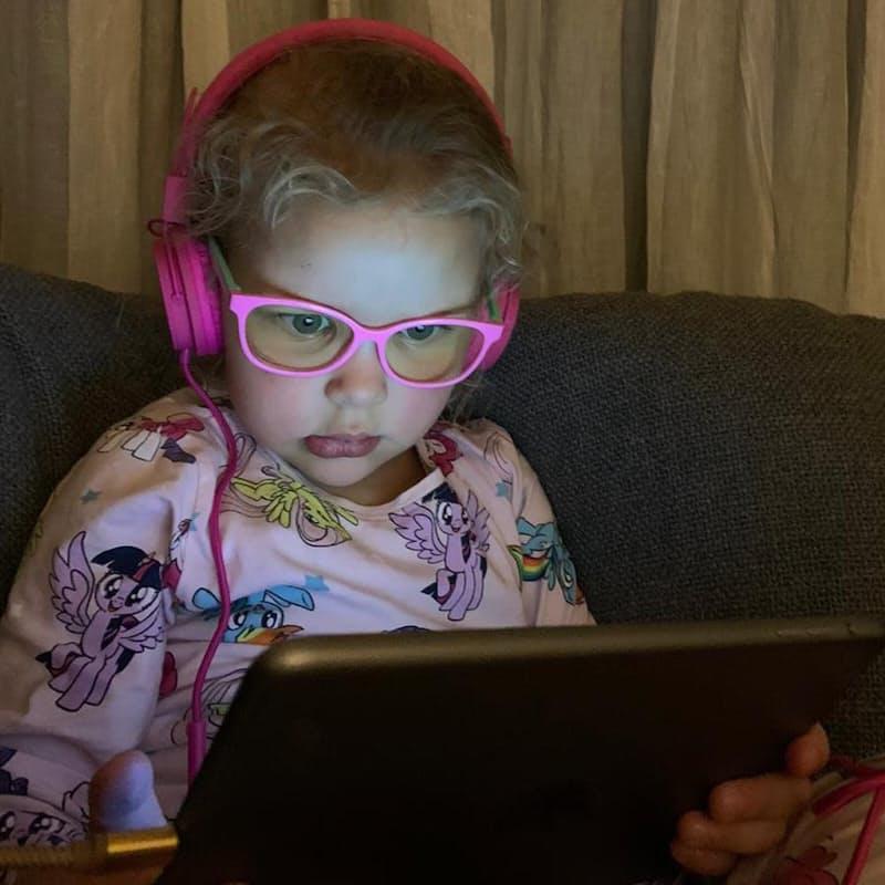 Blue Shield Kids Glasses