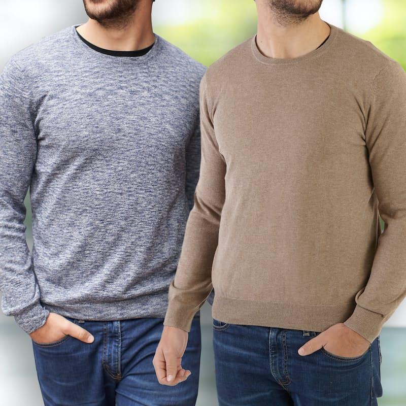 Men's Crew Neck Pullover