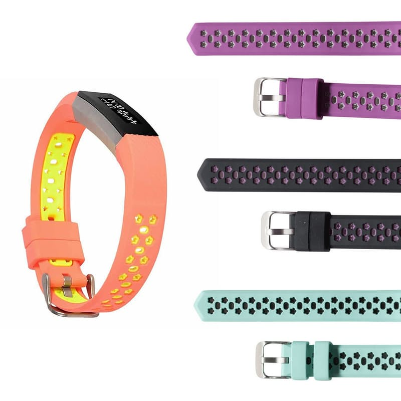 Fitbit Alta Silicone Star Replacement Strap