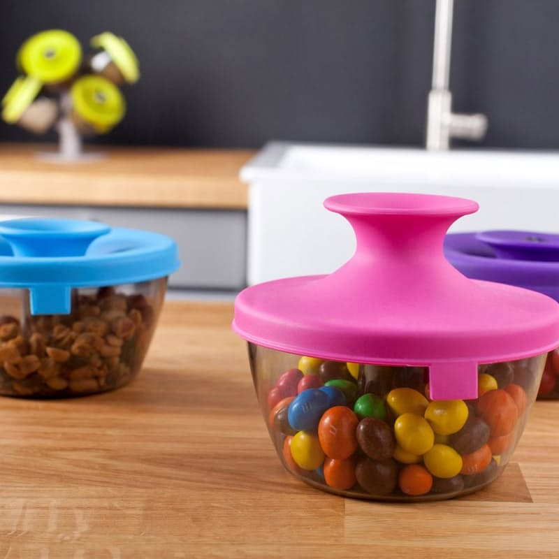 Pack of 2 PopSome Nut and Candy Dispenser (450ml)