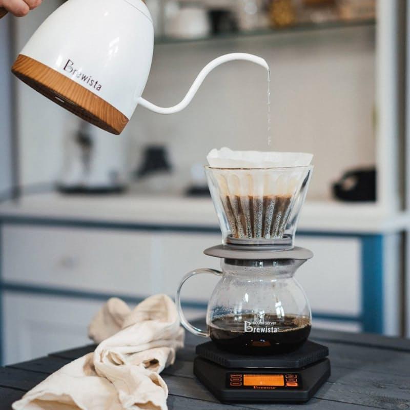 Glass Smart Coffee Dripper