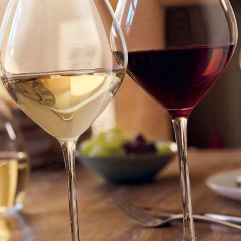 Set of 6 Grand Chais Stemmed Wine Glasses