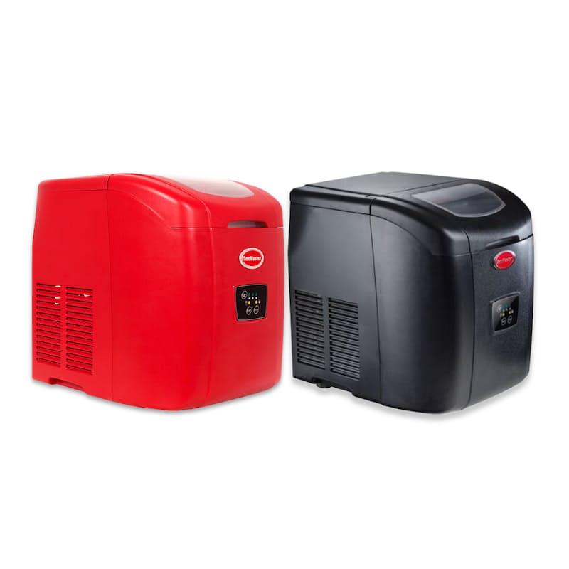 12kg Ice Maker in Black or Red