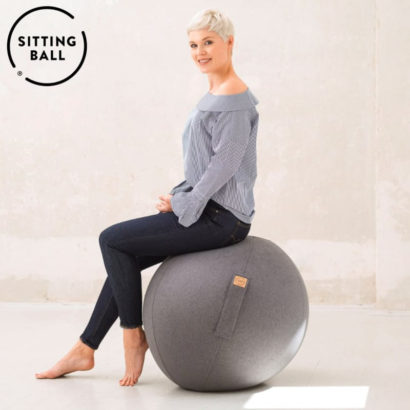Portable Inflatable Faux Felt Seat (Made in Germany)