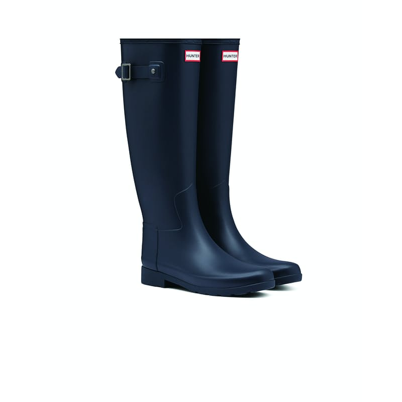 Ladies Refined Tall Matte Wellington Boots
