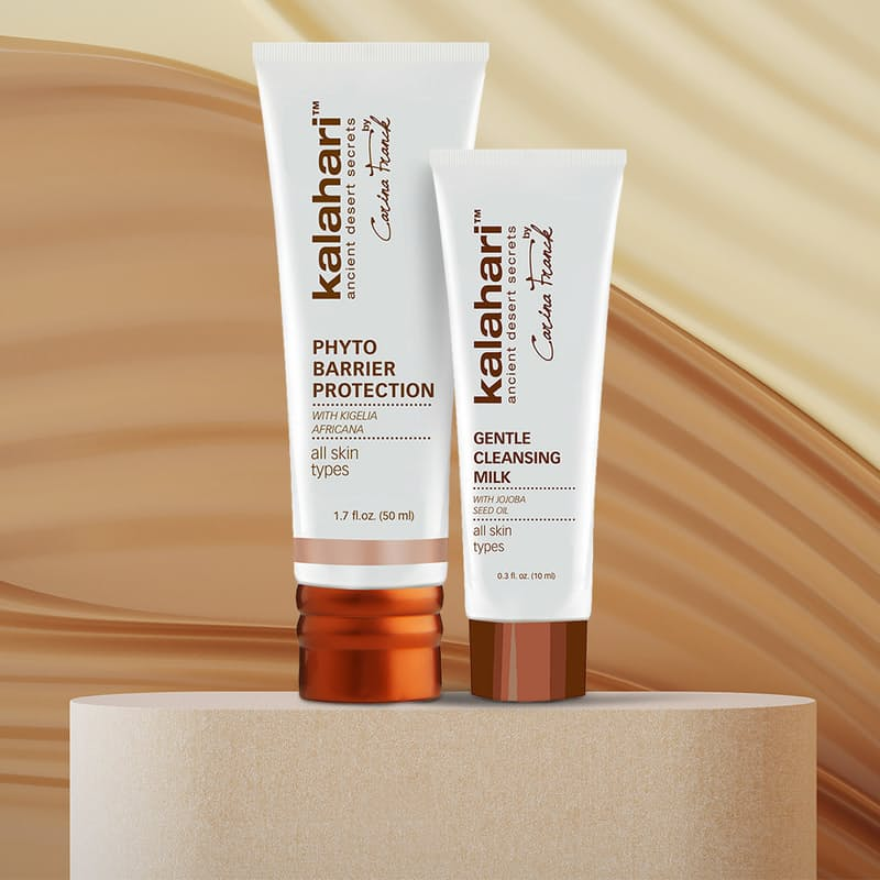 2-Piece Facial Bundle (Phyto Barrier Protection and Gentle Cleansing Milk)