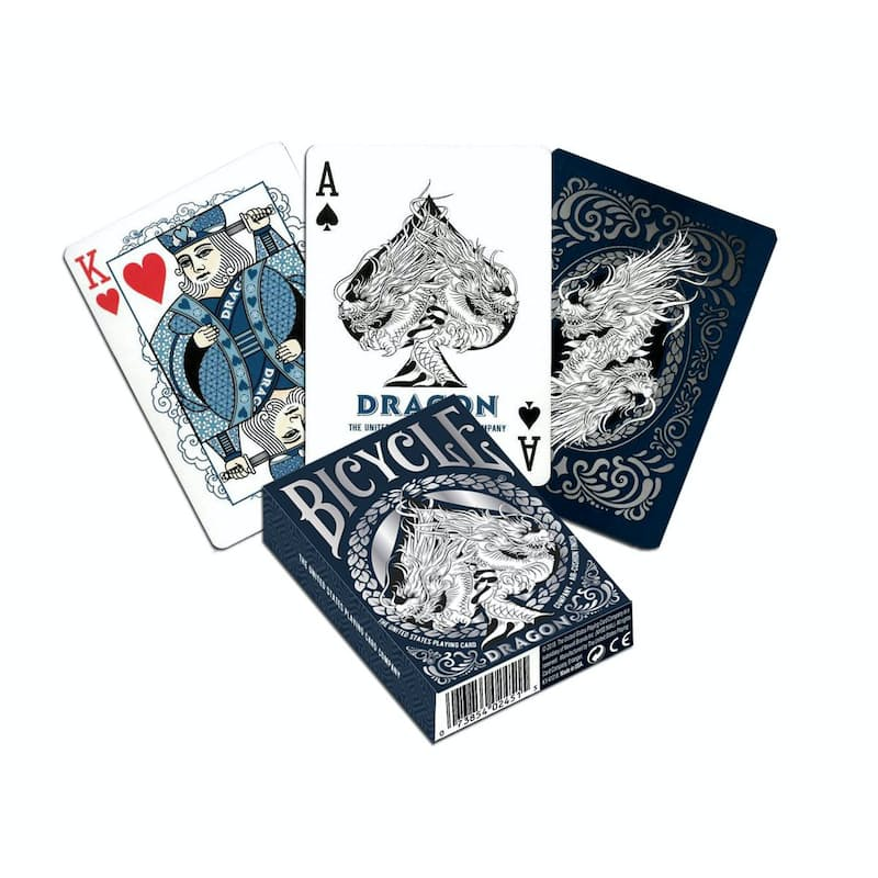 Pack of 2 Novelty Back Playing Cards