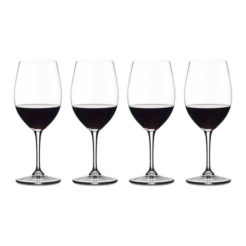 Pack of 4 Vivant Red Wine Glasses