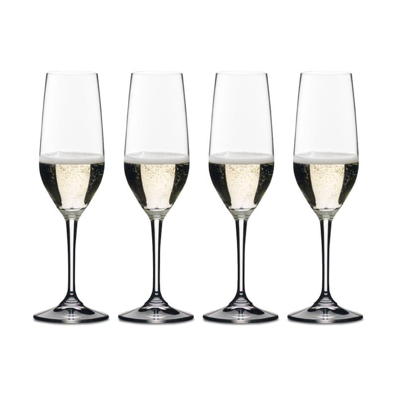 Pack of 4 Vivant Champagne Flutes