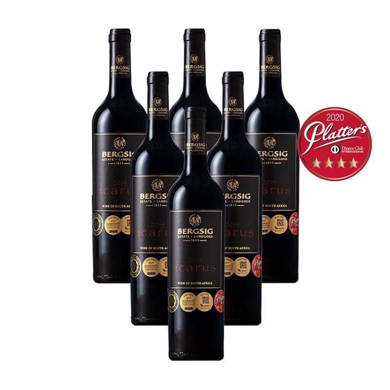Icarus Red Blend 2014 (R133.16 Per Bottle, 6 Bottles)