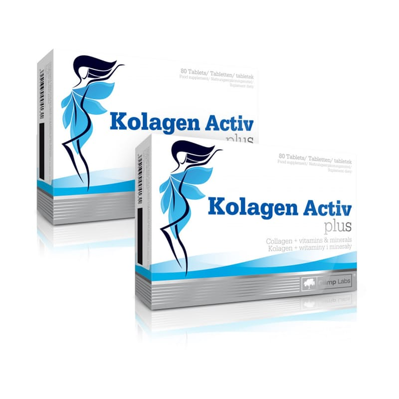 Pack of 2 Kolagen Activ Plus (160 Chewable Tablets)