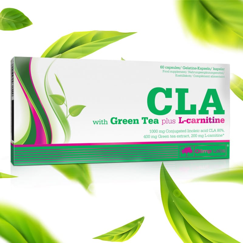 Vegan CLA with Green Tea plus L-Carnitine (60 Capsules)