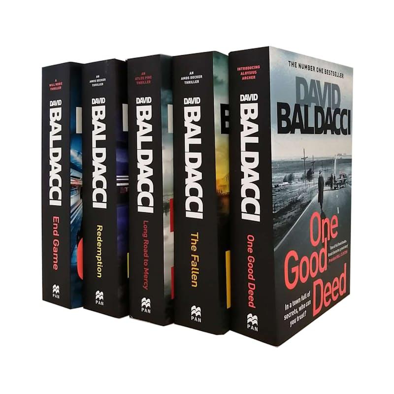 Thriller Fiction Bundle (5 Books)