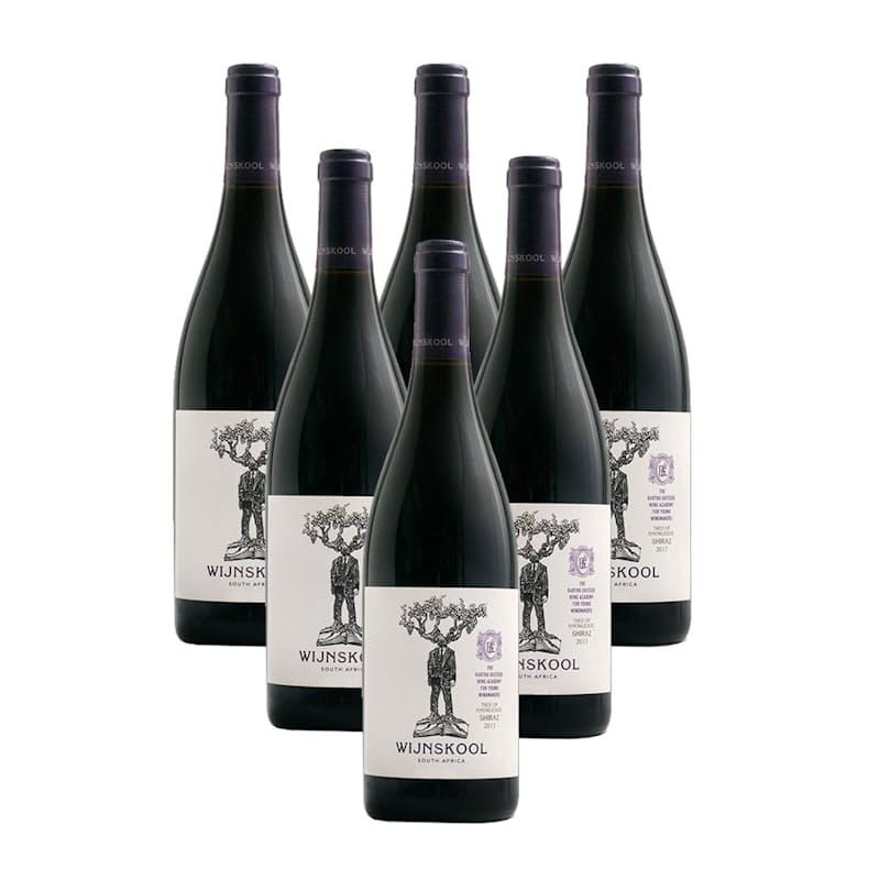 Wijnskool Tree of Knowledge Shiraz 2018 (R104.83 Per Bottle, 6 Bottles)