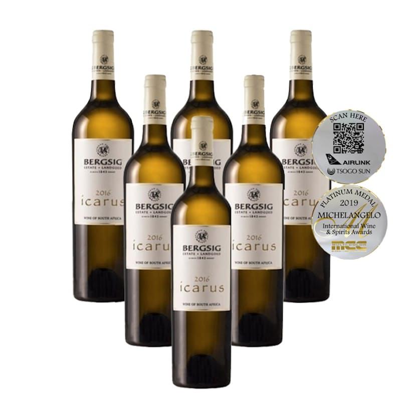 Icarus White Blend 2016 (R124.83 Per Bottle, 6 Bottles)
