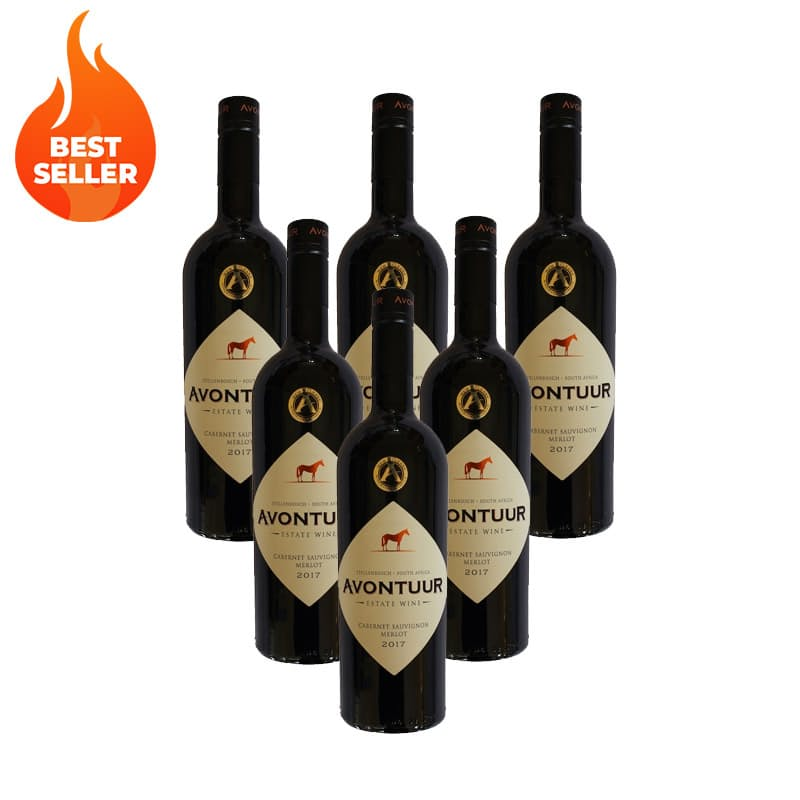 Cabernet Sauvignon Merlot Blend 2017 (R78.16 Per Bottle, 6 Bottles)