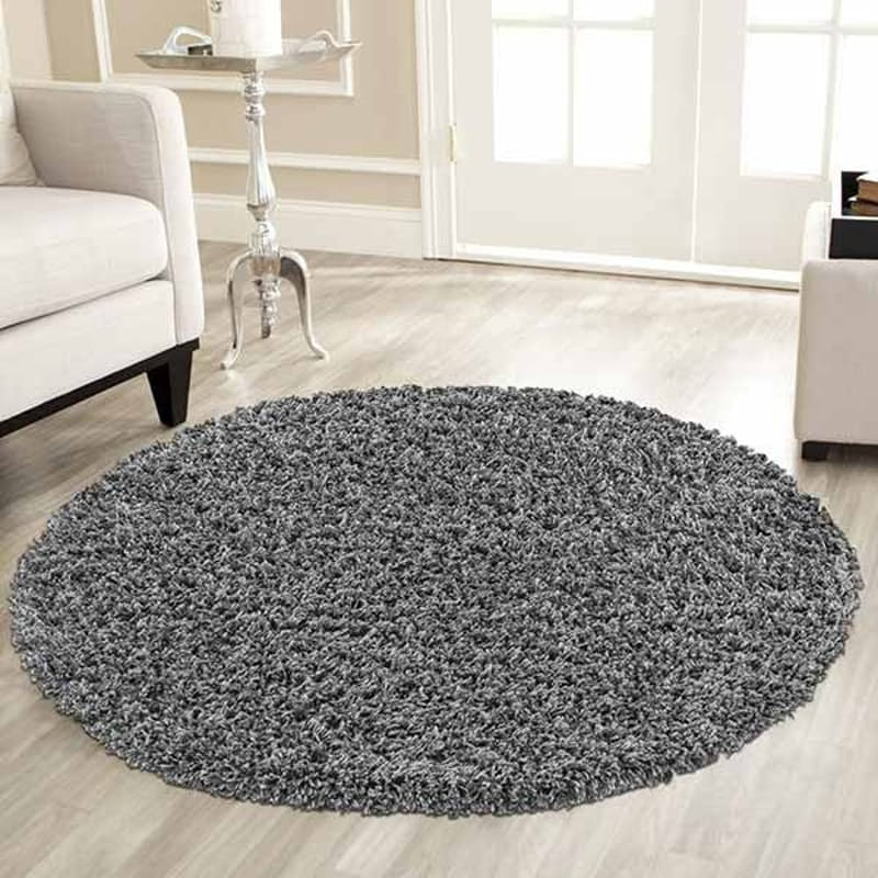 Nuage Round Luxurious Shaggy Rug